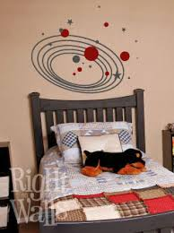 Solar System Kids Wall Decals Vinyl Art Stickers