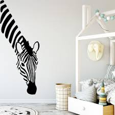 Fun Zebra Vinyl Wall Stickers Wall Decor For Kids Room Baby Room Decoration Wall Decals Creative Stickers Murals Wallstickers Wall Stickers Aliexpress