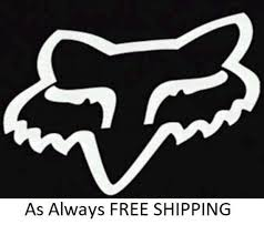 Fox Racing Decal Good For Car Truck Laptop Window Sticks To Etsy
