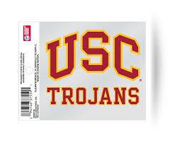 Usc Trojans Usc Logo Static Cling Sticker New Window Or Car Ncaa 94746328511 Ebay