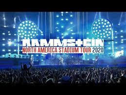 rammstein cancel 2020 european stadium