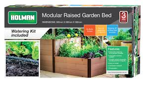 modular raised garden bed holman