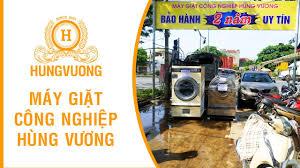 Giao máy giặt công nghiệp Unimac | Máy giặt công nghiệp Hùng Vương