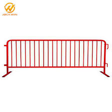 China Hot Dipped Galvanized Temporary Barricade Fence Metal Crowd Control Barrier For Sale China Crowd Control Barrier Crowd Control Fence