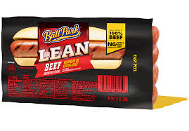 lean beef hot dogs ball park brand