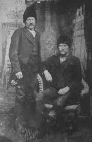 Alexander Jordan Harrison I and Elizabeth Jane Betsy Roe