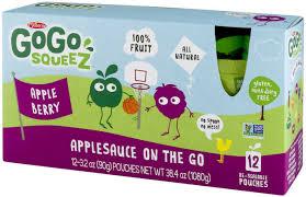 gogo squeez applesauce on the go apple