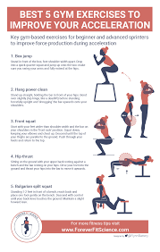 gym exercises to improve acceleration