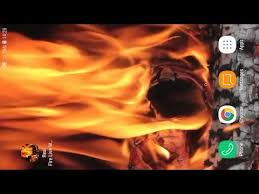 real fire live wallpaper apps on