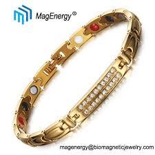 magnetic snless steel bracelets