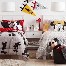 Disney Mickey Mouse Minnie Mouse Pillowfort Kids Bedroom Collection Target