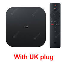 Global Xiaomi Mi TV Box S 4K HDR Android TV 8.1 Ultra HD 2G 8G WIFI Google  Cast Netflix Set top Mi Box 4 Media Player Sale, Price & Reviews