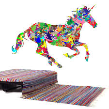 Shop Full Color Colorful Bright Horse Running Full Color Wall Decal Sticker Sticker Decal 22 X 35 On Sale Overstock 15218642