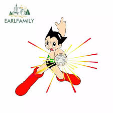 Earlfamily 13cm X 13cm For Astro Boy Personality Creative Car Stickers Vinyl Material Decal Car Accessories Graffiti Decoration Car Stickers Aliexpress
