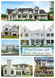 White Houses With Black Trim Inspiration Life On Virginia Street