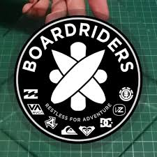 Car Decal Boardriders Restless For Adventure The Parent Company Of Brands Like Quiksilver Roxy Billabong Von