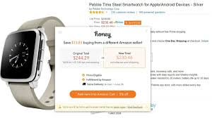 honey to save money on amazon purchases