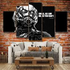 5 Panels Canvas Wall Art Marvel Painting Ant Man Picture Modern Home Decor Livingroom Bedroom Unframed Wish