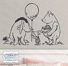 Classic Winnie The Pooh Balloon Piglet Eeyore Vinyl