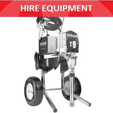 Aa Spray Hire Tritech T9 Electric Airless Sprayers With 30m Hose For 190 00 Per Day In Sydney