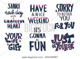 set quotes isolated vector photo trial bigstock
