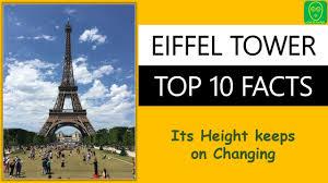 top 10 facts about eiffel tower paris