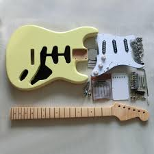 diy strat electric guitar assembly kit