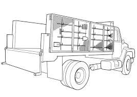 Kleurplaat Vrachtwagen Afb 19113 Kleurplaten Vrachtwagens