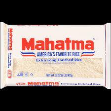 traditional white rice mahatma rice