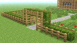 Beautiful Minecraft Fence Designs Minecraft How To Build Little Wooden Fence Youtube Diy Minecraft Minecraft Decorations Amazing Minecraft