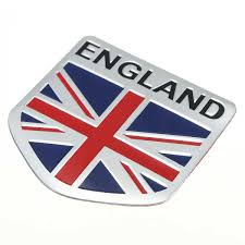 Car Truck Graphics Decals Auto Parts And Vehicles Britain Union Jack Flag Shield Decal Set Badge British Helmet Car Sticker Ontapbeer Tours