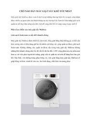 Chỗ nào bán máy giặt sấy khô tốt nhất.pdf