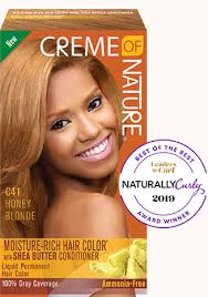 honey blonde creme of nature