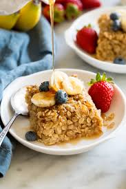 baked oatmeal recipe cooking cly