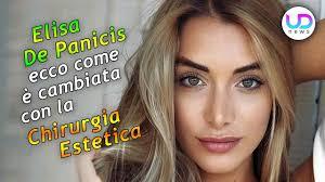 GF Vip, Elisa De Panicis: Come è Cambiata Con La Chirurgia ...