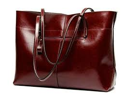 genuine leather handbag large capacity