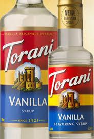 torani vanilla syrup free 1 3 day