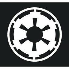 Advertisement Star Wars Star Wars Galactic Empire Logo Logo Symbol Sticker Sticker Decal Whi Star Wars Empire Logo Empire Logo Star Wars Wallpaper
