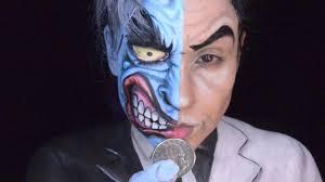 two faced batman makeup tutorial