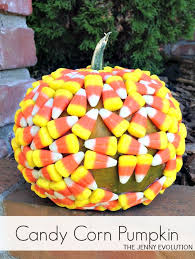 candy corn covered pumpkin mommy