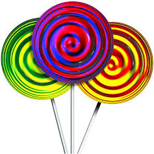 Amazon Com Wallmonkeys Candy Lollipops Wall Decal Peel And Stick Graphic 48 In H X 48 In W Wm218888 Furniture Decor