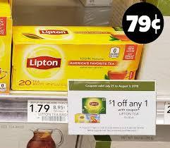 lipton tea bags i heart publix