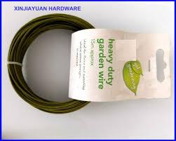 china cable jardín recubierto de pvc