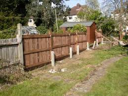 Replacing A Garden Fence