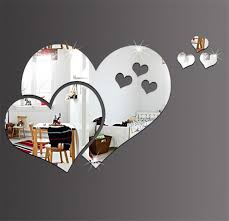 Decorative Shape Wall Heart Diy 3d Acrylic Room Stickers Creative Mirror Mirrors Decal Sweet07 Xqxcc Wall Decor Stickers Quotes Wall Decor Tree Stickers From Sweet07 1 17 Dhgate Com