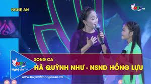 Song ca NSND Hồng Lựu ft Hà Quỳnh Như: Hành hương về quê Bác ...