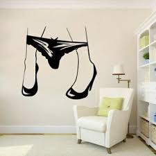 Sexy Women S Panties Creative Wall Stickers Wall Decal Bedroom Living Room Home Ebay