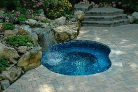 in ground spa jacuzzi hot