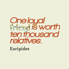 euripides quote about friendship