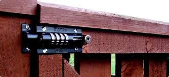Backyard Fence Door Lock Outdoor Furniture Design And Ideas